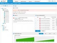 SiteKiosk dla Androida może wymieniać dane z SiteRemote Server w celu tworzenia statystyk, zmiany konfiguracji i monitorowania urządzeń mobilnych. SiteRemote można testować bezpłatnie przez 30 dni.