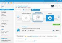 Oprócz Internet Explorera SiteKiosk 9 obsługuje Google Chrome Browser Engine. Ta funkcja umożliwia dostosowanie SiteKiosk do przyszłych zmian w technologii przeglądarki, takich jak zapowiedź Microsoftu o zaprzestaniu korzystania z Internet Explorera.