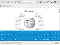 SiteKiosk zapewnia szeroki wybór klawiatur ekranowych, które mogą być również wyświetlane lub ukryte dla określonych adresów URL lub automatycznie wyświetlane gdy wprowadzenie tekstu jest wymagane.
