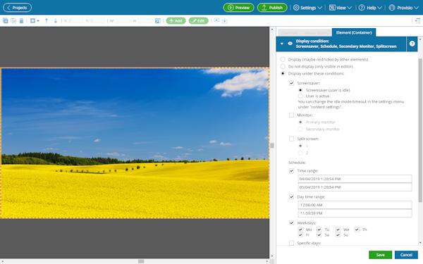 sitecaster features 04 screensaver